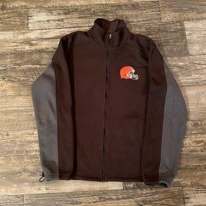 NFL Cleveland Browns Fleece Jacket